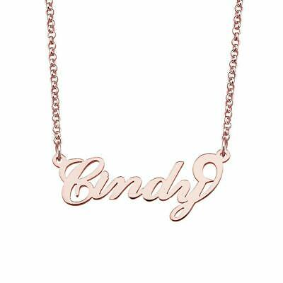 MARISSA Name Necklace Stainless Steel 18ct Gold PlatedPendant Gifts For Her