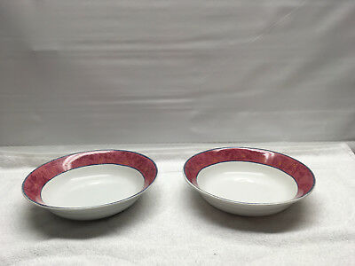 Sakura Malaga Furio Mesa Set of 2  Salad Soup Cereal Bowls Sue Zipkin