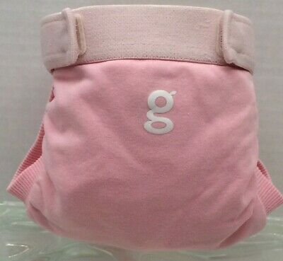 Gdiapers Small Giggle Pink Gpant & New Pouch Euc
