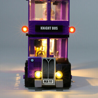 USB LED Light Building Block Accessory Kit for LEGO Knight Bus 75957
