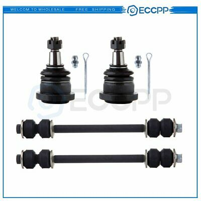 ECCPP Front Lower Ball Joints Sway Bar End Links for 2003-2010 DODGE RAM 3500 2WD RWD 8pcs K7465