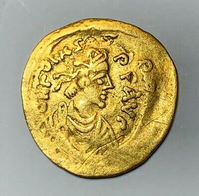 Ancient Byzantine Gold Coin Tremissis!!! Phocas. 602-610 Ad!!! Scarce!!!