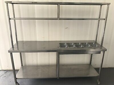 Stainless Steel Preb Bench