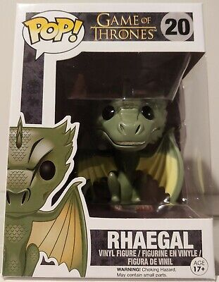 Funko Pop! #20 Game of Thrones - Rhaegal - Vaulted+Retired Very HTF Authentic!