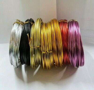 Florist Wire Colored Coated 12 gauge /Please choose your Colour