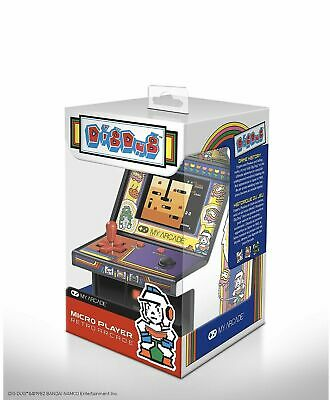 My Arcade Official DIG DUG Micro Player Handheld Retro Video Game Collectible