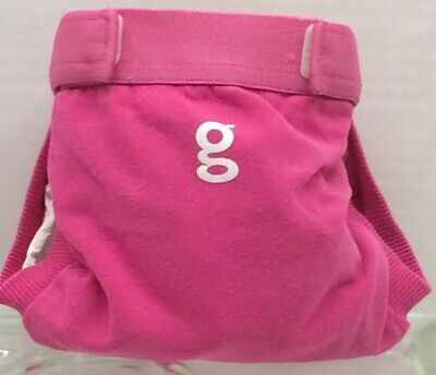 Gdiapers Small Goddess Pink Gpant & Pouch Vgc