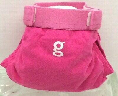 Gdiapers Small Goddess Pink Gpant & New Pouch Vgc