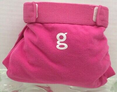 Gdiapers Small Goddess Pink Gpant & New Pouch Euc