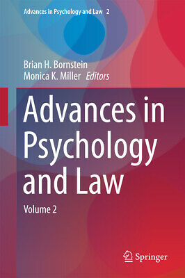 Advances in Psychology and Law, Brian H. Bornstein
