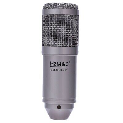HZM&C Upgraded Bm 800 Usb Condenser Microphone Studio Mic For Computer Reco F2D6