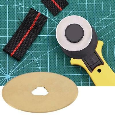10Pc 45mm Roller Wheel Round Knife Cloth Cutting Knife For Leather Fabrics Paper