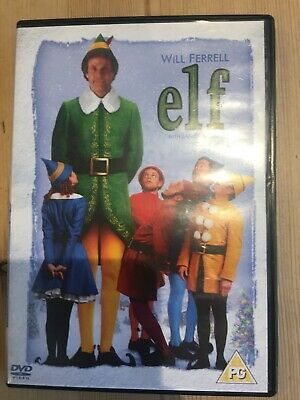 Elf DVD with Will Ferrell and James Caan