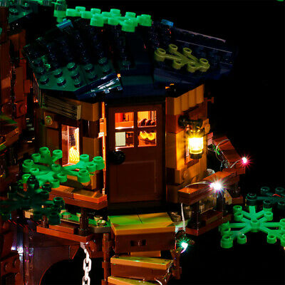 Vonado USB LED Light Building Block Modified Kit for LEGO Tree House 21318