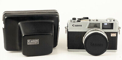CANON CANONET 28 (1971), 35mm RANGEFINDER CAMERA