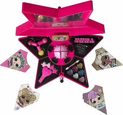 LOL Surprise Glam Beauty Cosmetic Makeup Case 8 Surprises Girls Xmas Toy Gift 3+