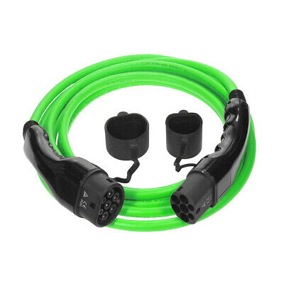 Type 2 to Type 2 Electric Car [EV] Cable   16amp   3.6kW   7.5m (NS291)