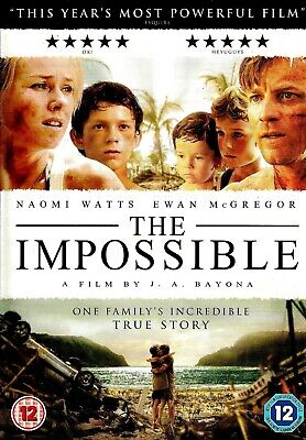 [DISC ONLY] The Impossible DVD Drama Naomi Watts, Ewan McGregor