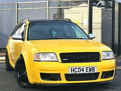 2003 Audi RS6 Avant 4.2 Quattro, Wrapped In Yellow, Bose Sound, Recaro Buckets,