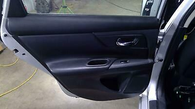 2017 Nissan Altima LH Driver Side Rear Door Trim Panel Charcoal-G
