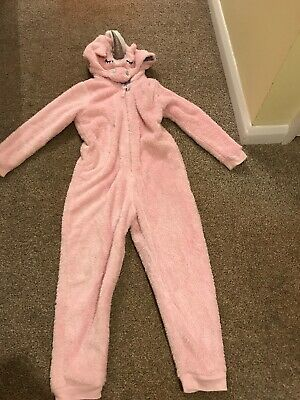 Girls M&S Unicorn All In One Suit