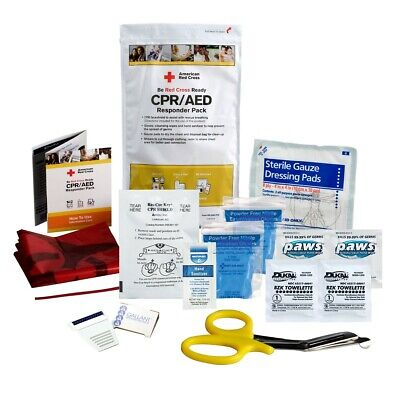 First Aid Only American Red Cross CPR/AED Responder Pack, RC-643-PB, New