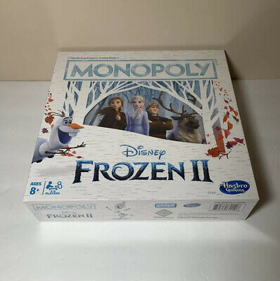Monopoly Game: Disney Frozen 2 Edition Board Game Christmas Gift