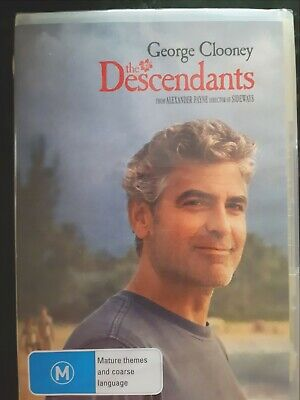The Descendants [ DVD ] Region 4, BRAND NEW & SEALED, Free Next Day Post fromNSW