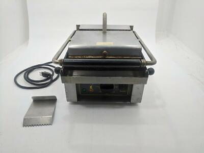 "Equipex Savoy 13"" Sodir Countertop Commercial Electric Panini Press Grill Maker"
