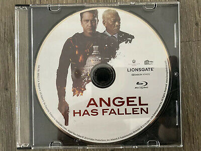Angel Has Fallen 2019 Blu-Ray Only Never Been Used Ships In Slim Cd Case