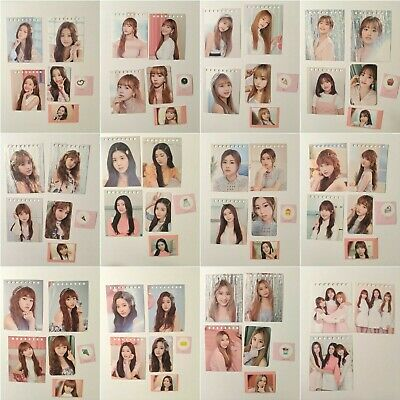IZ*ONE IZONE Official Secret Time Photocard, Calendar Card, stickers per member