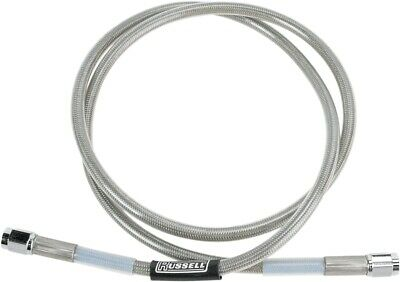 Universal Braided Stainless Steel Brake Line  44in  Russell R58262S