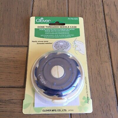 Clover 625 Dome Case for Threaded Needles Sewing NEW