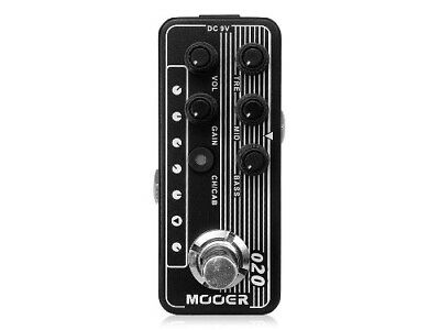 MOOER Micro Preamp 020 Effects Pedal [FREE SHIPPING]