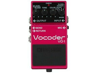 BOSS Vocoder VO-1 Effects Pedal [FREE SHIPPING]