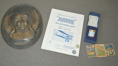Collection of Amy Johnson Memorabilia.