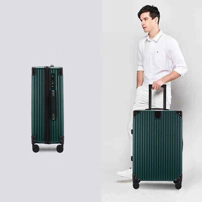 24'' Cabin Hand Suitcase Luggage Bag Travel Wheeled Lightweight Trolley Green