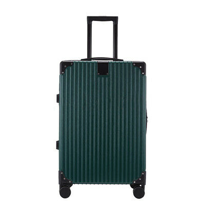 28'' Cabin Hand Suitcase Luggage Bag Travel Wheeled Lightweight Trolley Green