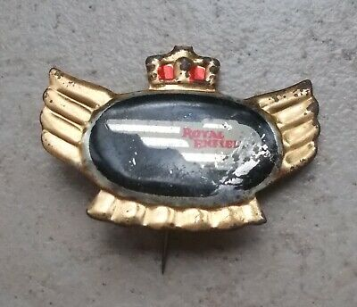 Badge embleme ROYAL ENFIELD Vintage Pins Moto Motorcycles UK 1960