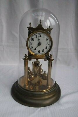 400 Day Anniversary Torsion Mantle Clock With Dome
