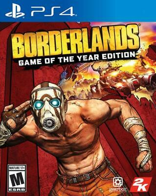 Borderlands : Game Of The Year Edition - Sony PS4 - New & Selaed