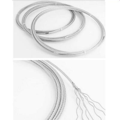 AU SOFT SS304 stainless steel wire rope cable 1X19 1.2-5MM and 7x19 1.5-20MM Dia