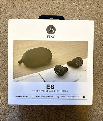 Bang & Olufsen BeoPlay E8 Truly Wireless Earbuds - Black