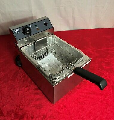 10L Single Deep Fat Fryer Frier Electric