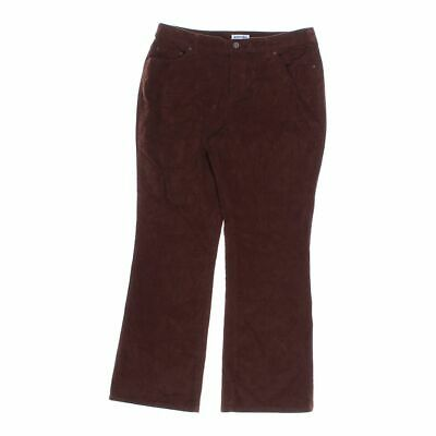 St. John's Bay Women's  Casual Pants size 14,  brown, red,  basic,  cotton