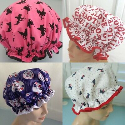 CLEARANCE  END OF LINE Shower cap, WATER PROOF SELECT FROM  4 DESIGNS