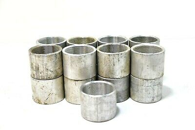 """Lot Of 17. 2 1/4"""" Threaded Conduit Coupling"""