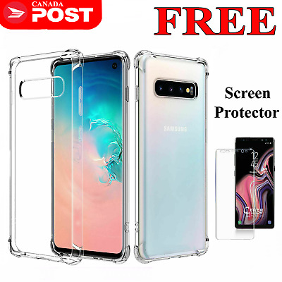 For Samsung Galaxy S10 S10+ S10E S8 S9 Plus Heavy Duty Soft Clear Gel Case Cover