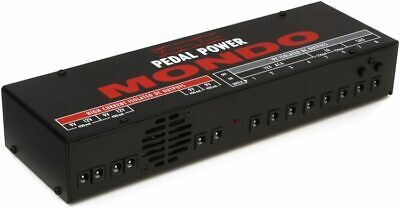 Voodoo Lab Pedal Power MONDO 12-output Isolated Guitar Pedal Power Supply FREE