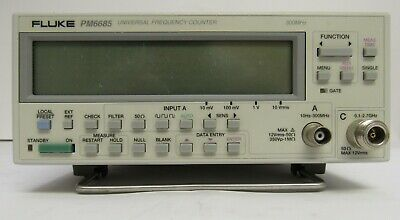 Fluke PM6685 with option 658 - 2.7 GHz UNIVERSAL FREQUENCY COUNTER